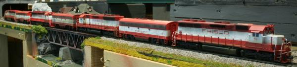 Kato SD45's and Athearn Genesis F7's