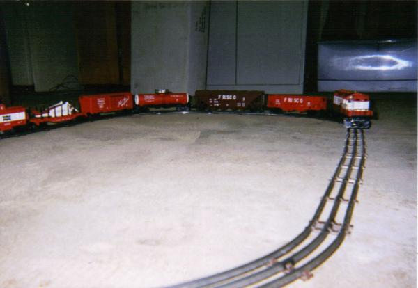 Lionel Frisco Freight Set 4