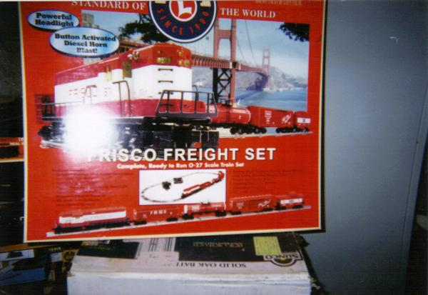 Lionel Frisco Freight Set