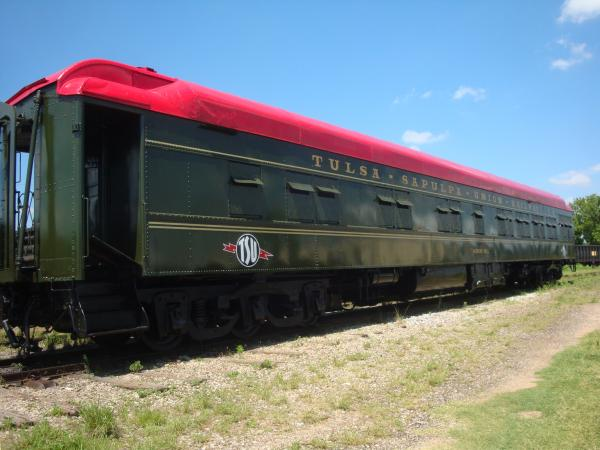 Murray Hill  w Tulsa Sapulpa Union RR logos 06 21 10