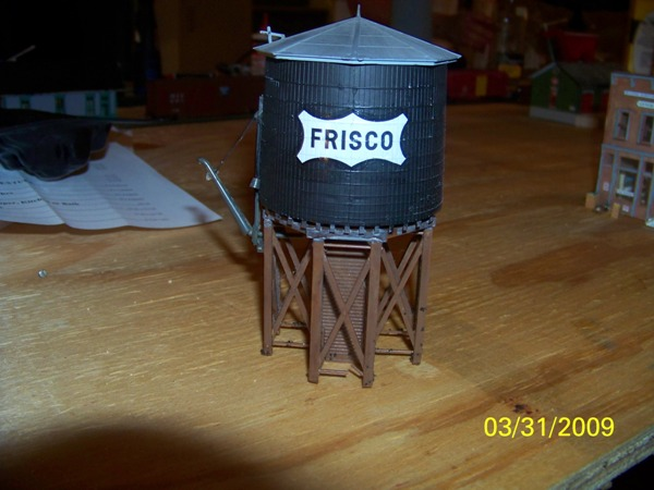 My first FRISCO water Tower