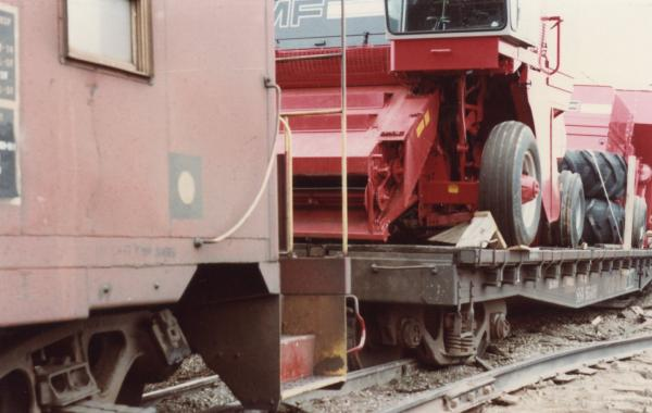 Notice the friction bearings on the caboose trucks.