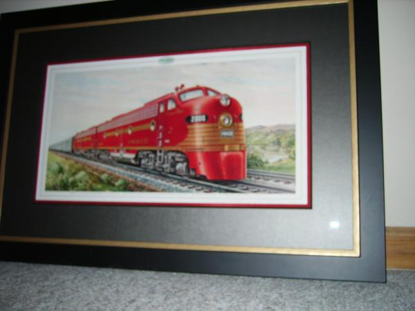 Official EMD Litho of Frisco E8As