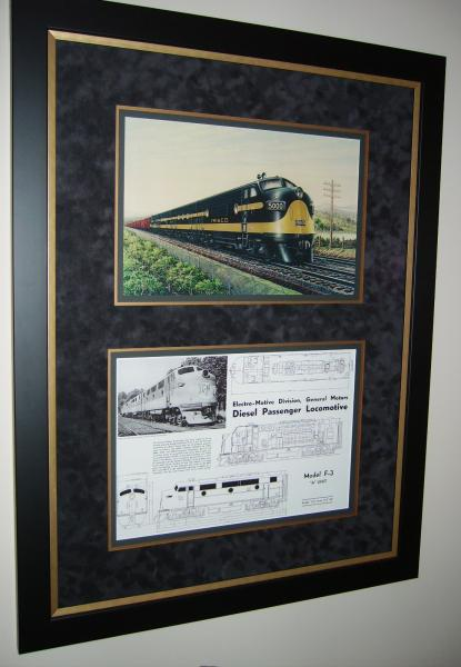 Official EMD Litho of Frisco F3s