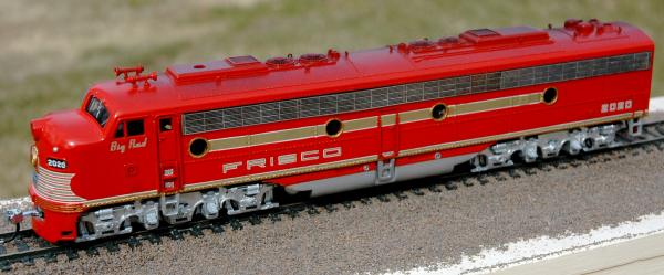 "Passenger diesel E8A Frisco 2020 ""Big Red"""