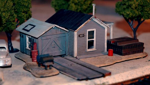Revell Maintenance shed