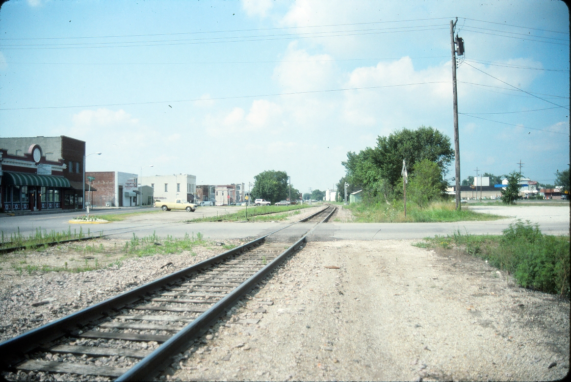 Rogers, Arkansas - July 1989 - Looking North/Northwest to old downtown