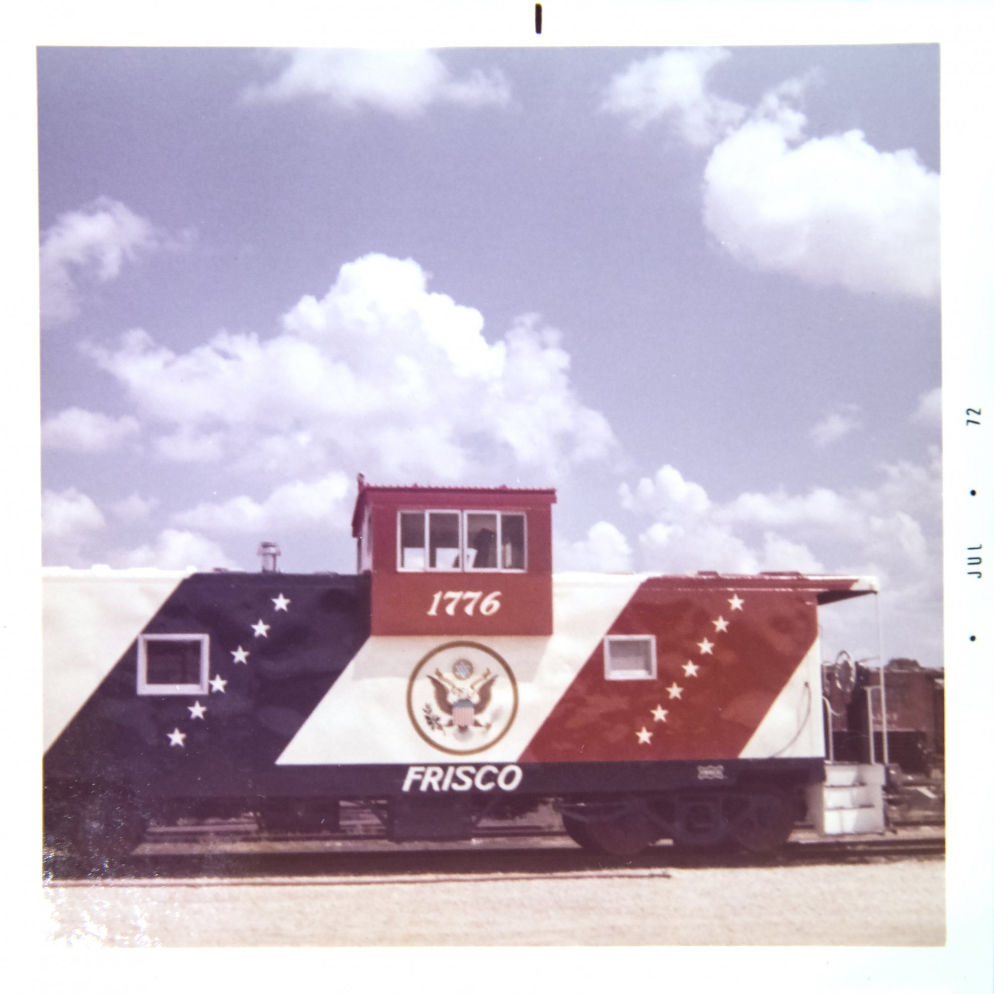 SLSF Caboose 1776 Side View
