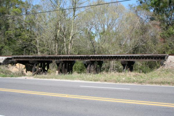 small trestle between Chickasaw and Mobile