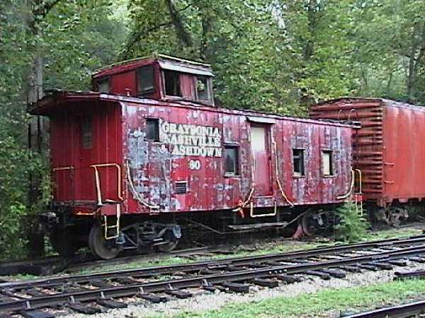 The ES&NA RR Caboose #60 is an ex-Graysonia, Nashville & Ashdown #60. Never was used by The ES&NA RR.