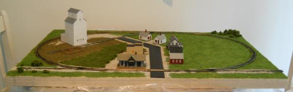 This is with all the houses down and some shrubs added