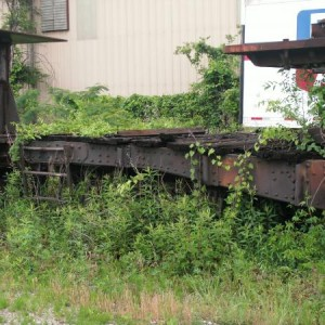 hardie tyne flat car c2009, frisco main line 9th ave north bham al